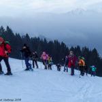 Rando raquettes dans le Pays d'En-Haut en Suisse