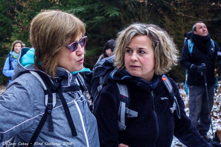 Balade Mariomont-Gileppe 2018_Mirijina et sa guide Anne