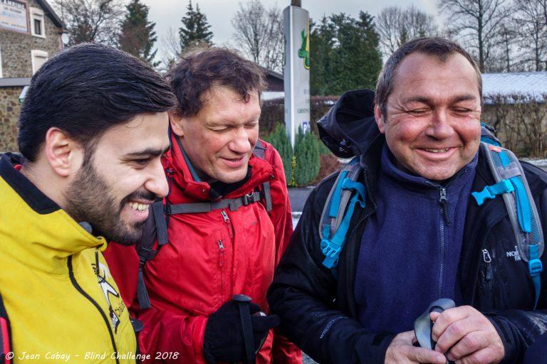 Balade Mariomont-Gileppe 2018_Gérard Sylvestre, Mahsum et Philippe Dumonceau
