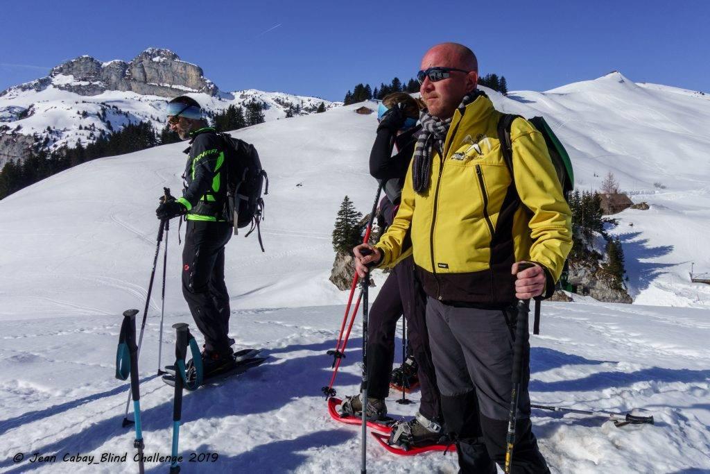 Raquettes 2019 dans le Canton de Vaud (Suisse)_Lolo concentré