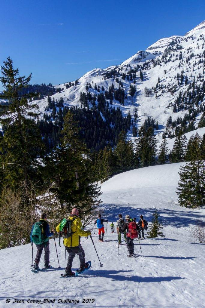 Raquettes 2019 dans le Canton de Vaud (Suisse)_il y avait du dénivelé sur les pentes du Mont d'Or