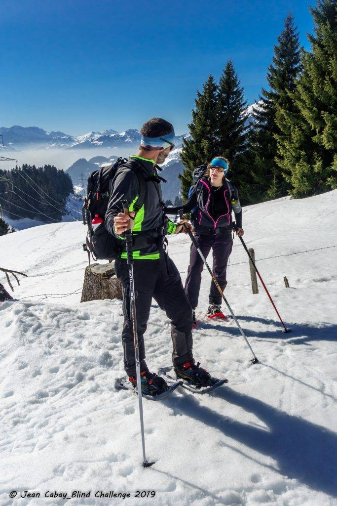 Raquettes 2019 dans le Canton de Vaud (Suisse)_Jean-Da et Maud ont mené les randonneurs durant ces trois jours